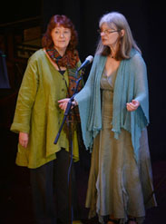 Moira Craig and Carolyn Robson